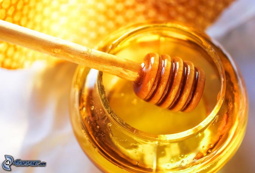 Honig, holz Honiglöffel