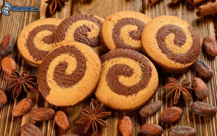 Kekse, Nüsse