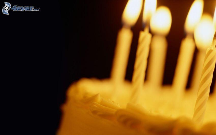 Kerzen, Kuchen