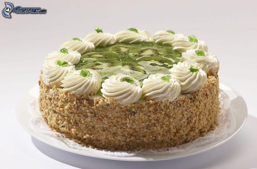 Kuchen, kiwi
