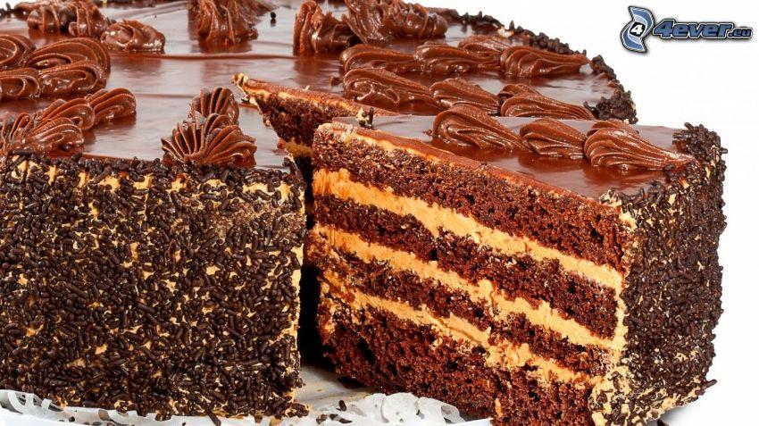 Kuchen, Schokolade