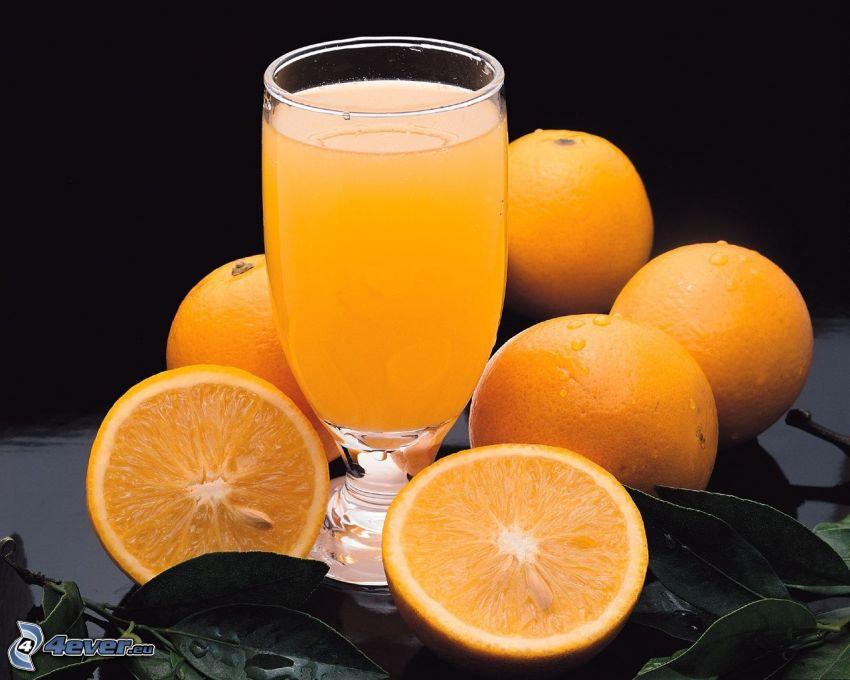 Orangensaft, orangen