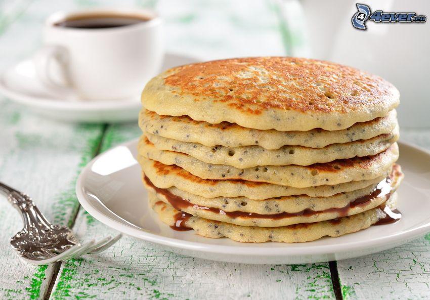 Pfannkuchen, Gabel