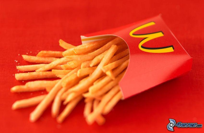 Pommes frites, McDonald's