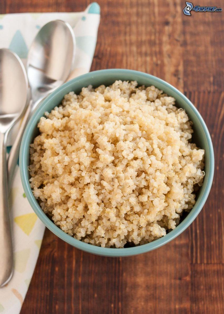 Quinoa, Löffel