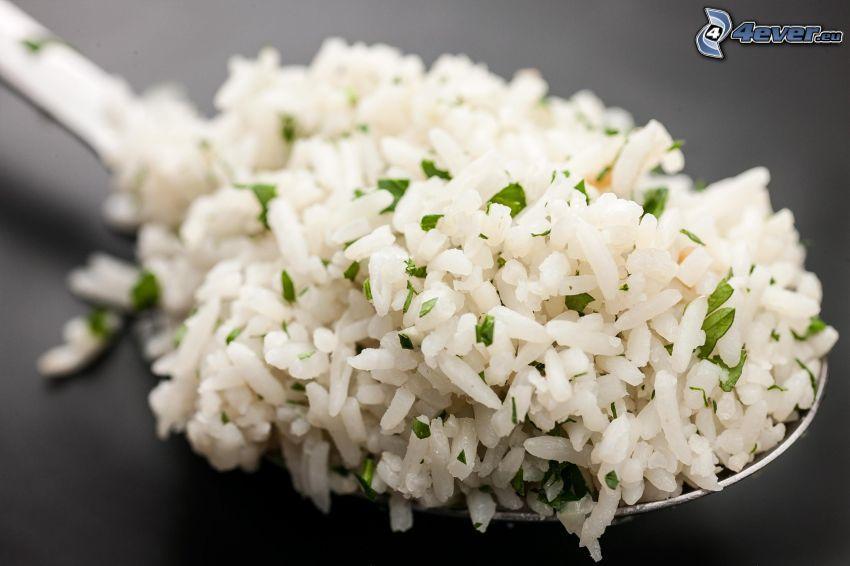 Reis, Löffel