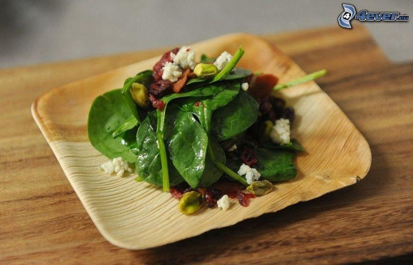 Salat, Spinat