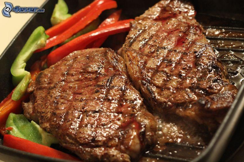 Steak, Paprika