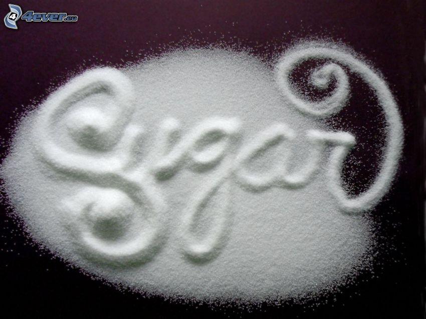 sugar, Zucker