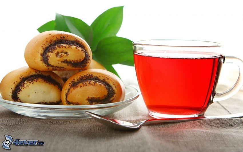Tee, Mohnkuchen