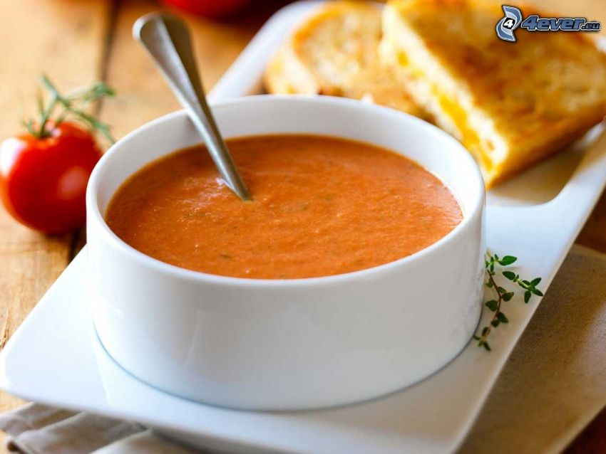 Tomatensuppe, Tomate