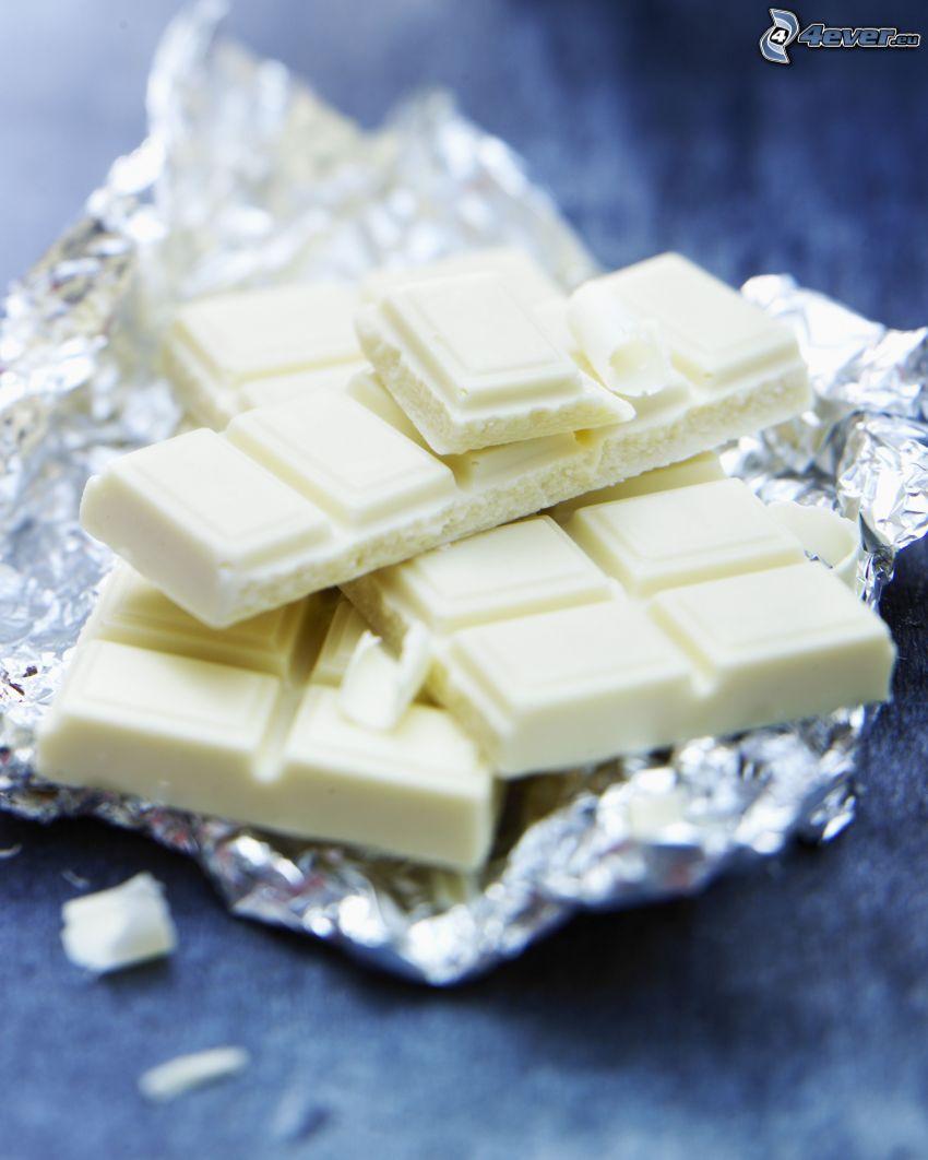 weiße Schokolade, Folie