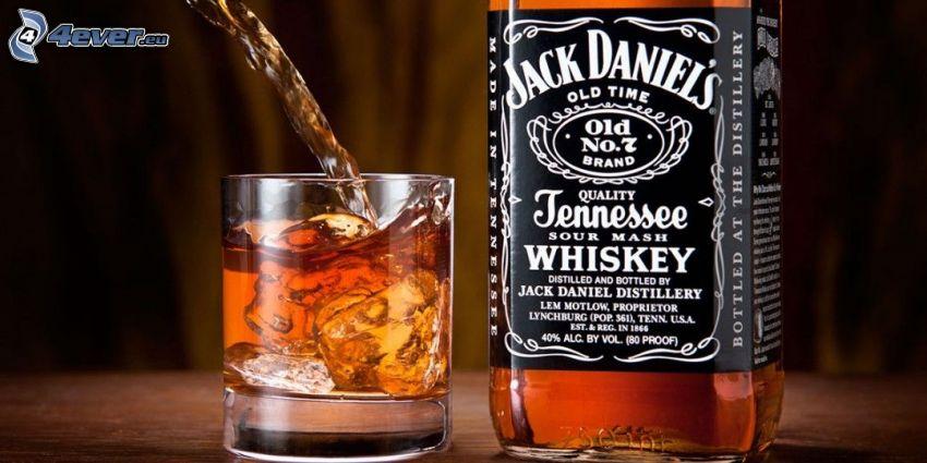 Whisky mit Eis, Jack Daniel's