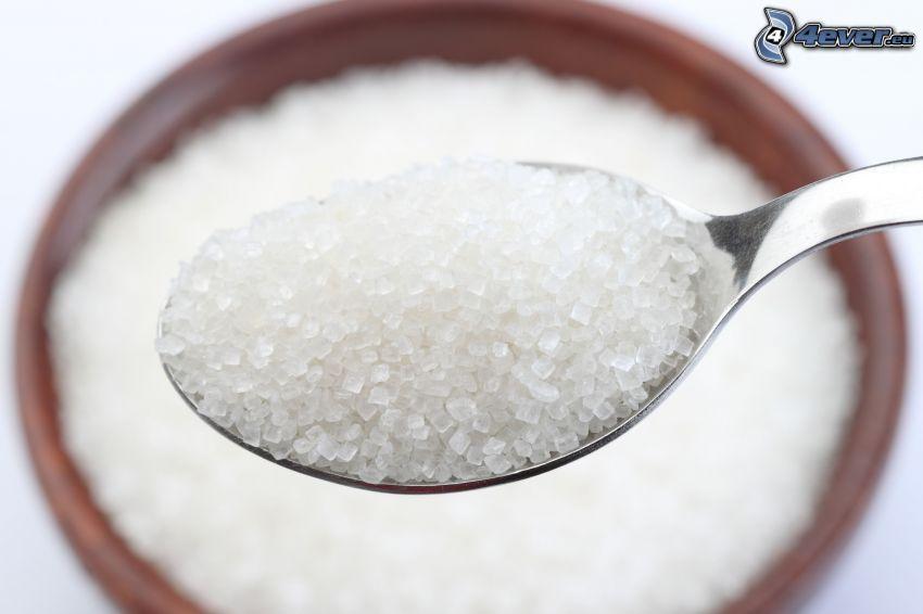Zucker, Löffel