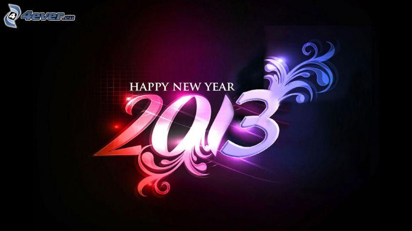 glückliches Neues Jahr, 2013