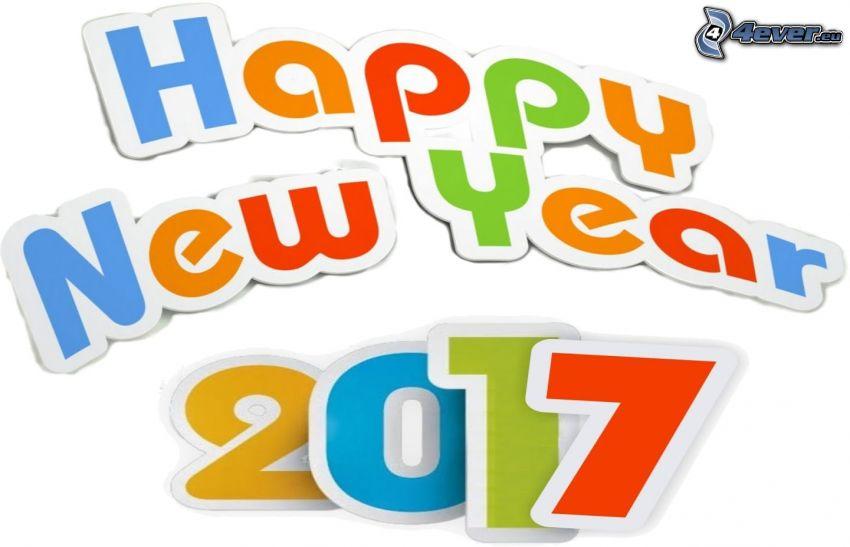 glückliches Neues Jahr, 2017, happy new year
