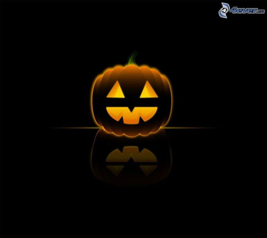 Halloween-Kürbis, Cartoon