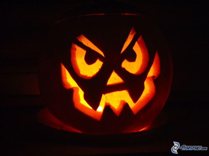 Halloween-Kürbis, jack-o'-lantern