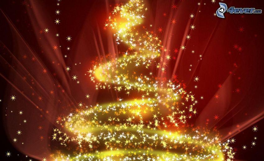 Beleuchtung, Weihnachtsbaum