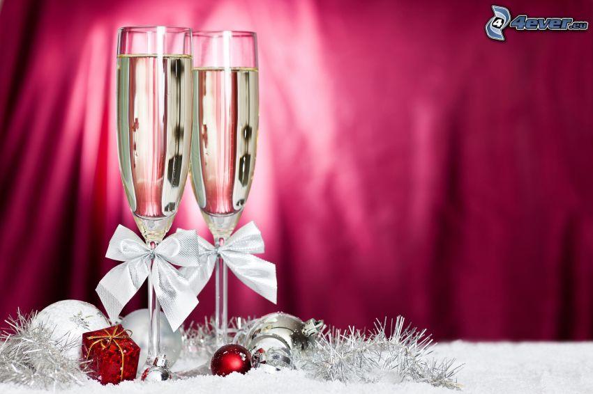 Gläser, Weihnachten
