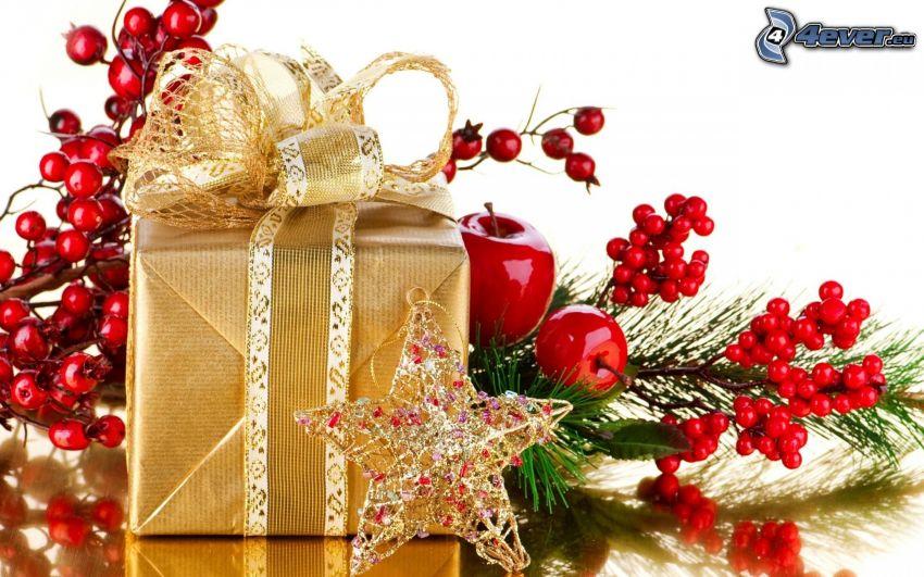 Weihnachtsdekoration, Geschenk