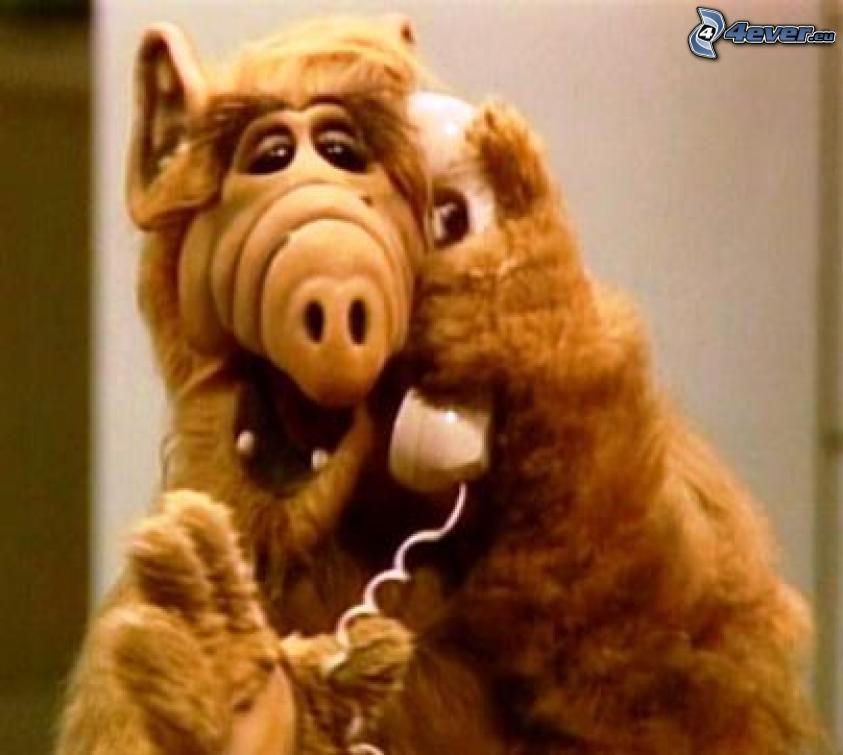 Alf, Telefon