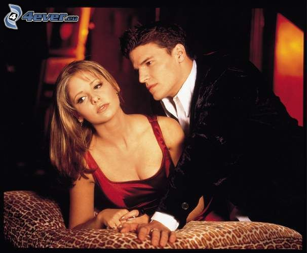 Buffy, Sarah Michelle Gellar, David Boreanaz, Seeley Booth