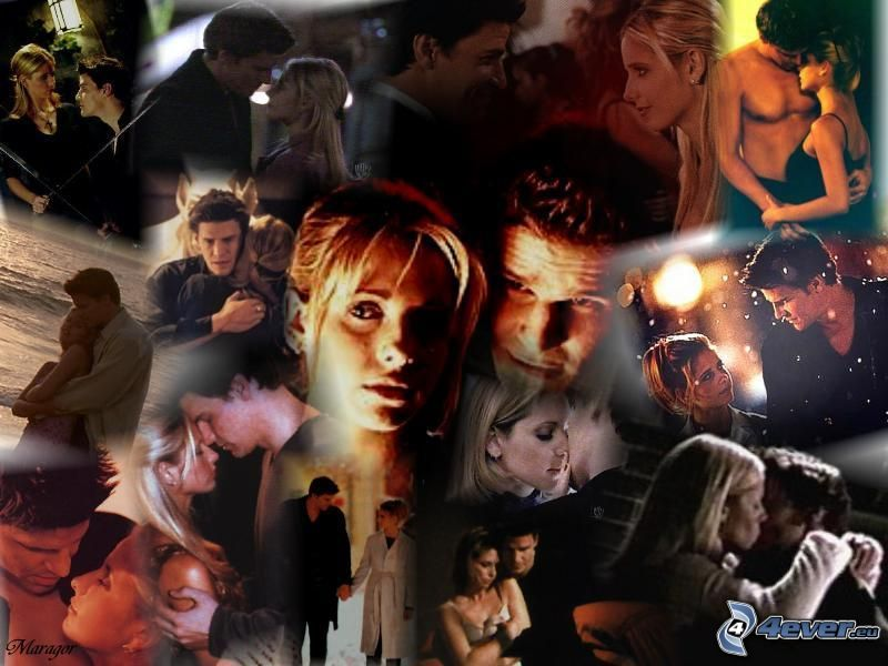 Buffy, Sarah Michelle Gellar, David Boreanaz, Seeley Booth