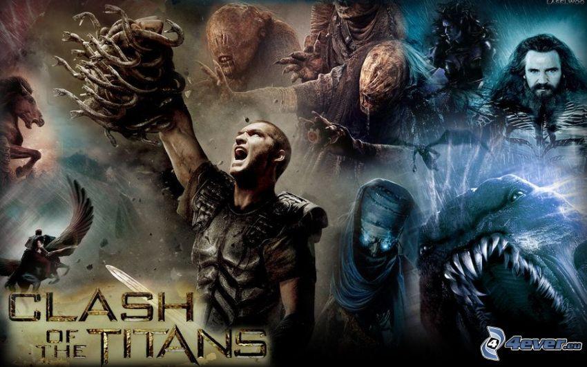Clash of the titans, Kämpfer