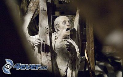 Der eisige Tod, zombie