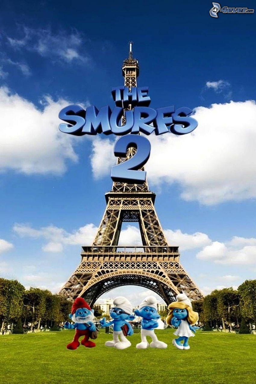 Die Schlümpfe 2, Eiffelturm