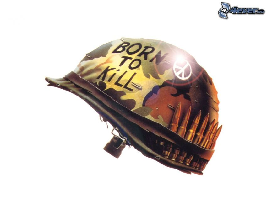 Full Metal Jacket, Helm, Munition