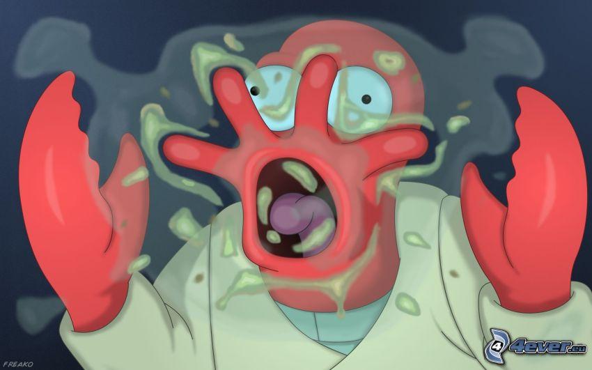 Futurama, zombie