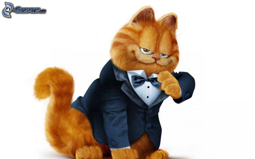 Garfield, Anzug, Querbinder