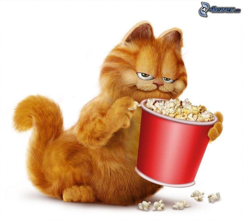 Garfield, Popcorn