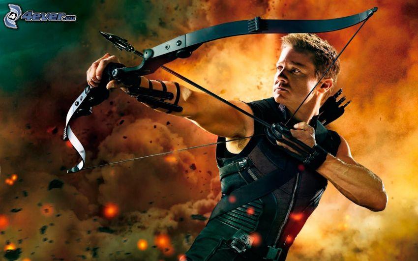 Hawkeye, Bogenschütze
