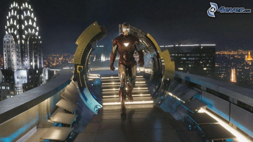 Iron Man, The Avengers, Chrysler Building
