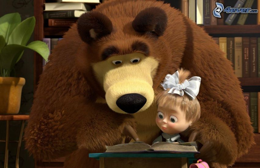 Mascha und der Bär, Märchen