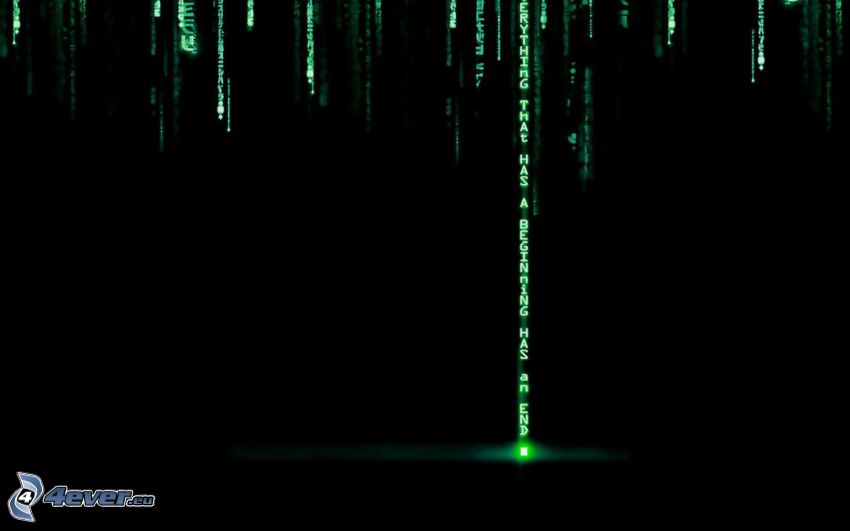 Matrix, Binärcode