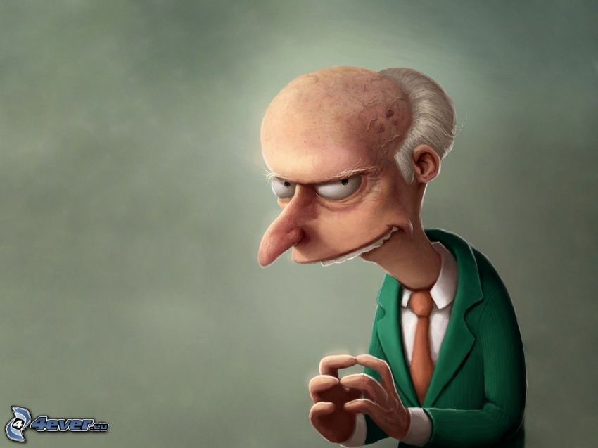 Mr. Burns, Die Simpsons