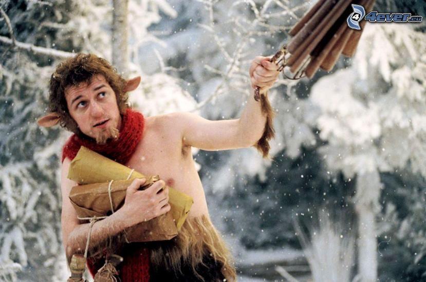 Mr. Tumnus, James McAvoy, Narnia, elf