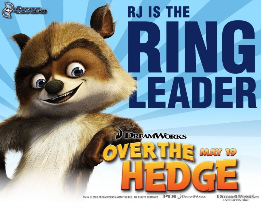 Over the Hedge, RJ