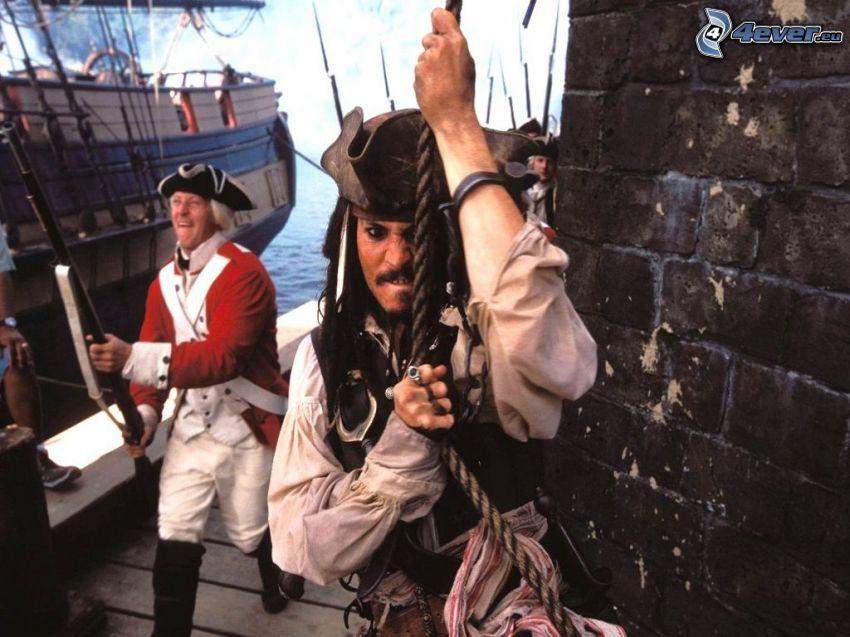 Piraten der Karibik, Jack Sparrow, Johnny Depp