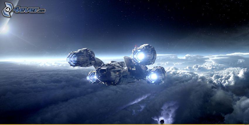 Prometheus, Raumschiff