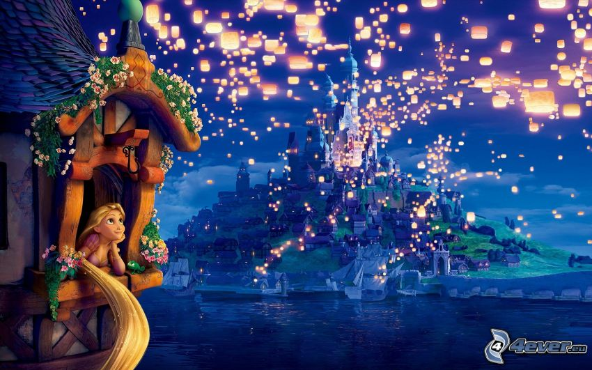 Rapunzel - Neu verföhnt, Laternen