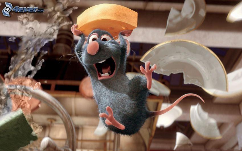 Ratatouille, Käse