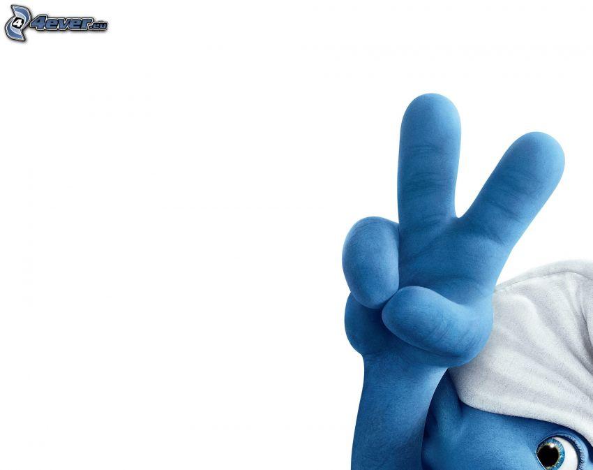 Schlumpf, Finger