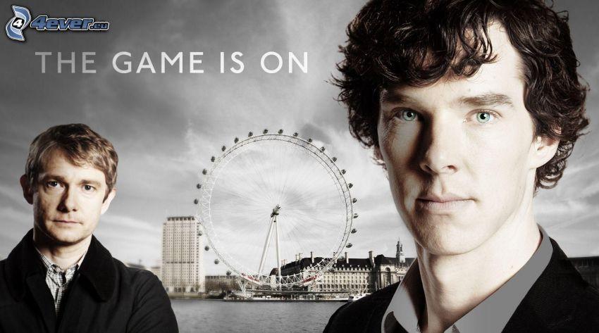 Sherlock Holmes, London Eye