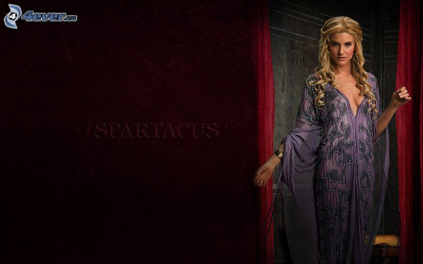 Spartacus, Blondine, Nachthemd