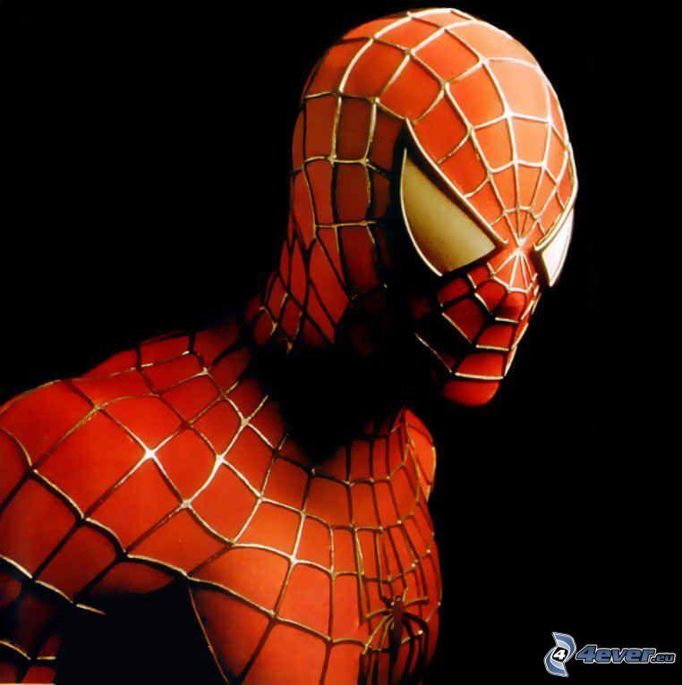 Spiderman, Spinnennetz, Mann
